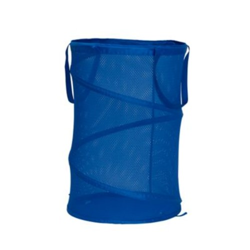 Household Essentials Pop-Up Laundry Hamper in Blue
