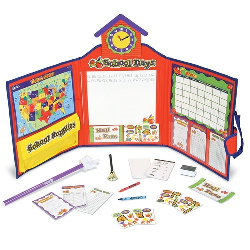 Learning Resources Pretend & Play School Set, 149 Pieces [Standard Packaging]