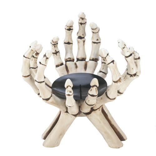 Skeleton Hands Votive