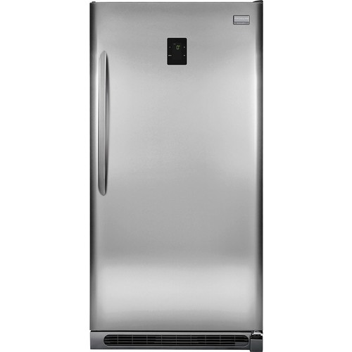 Frigidaire - Gallery 20.5 Cu. Ft. Frost-Free 2-in-1 Upright Freezer or Refrigerator - Stainless Steel