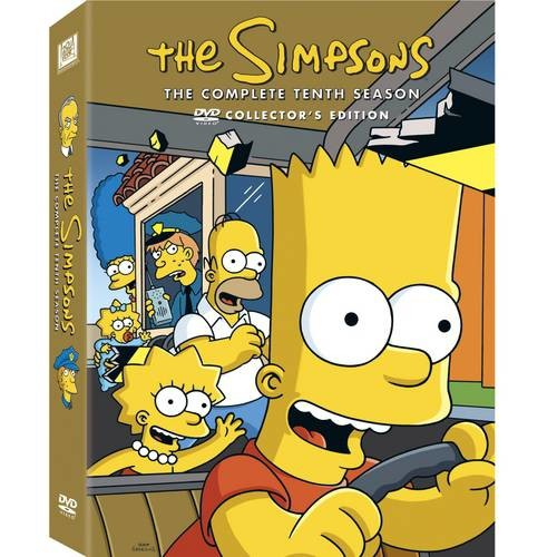 The Simpsons: The Complete Tenth Season [3 Discs] [DVD]