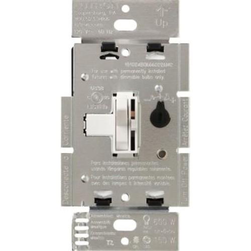 Lutron Toggler 150-Watt Single-Pole/3-Way Preset CFL-LED Dimmer - White