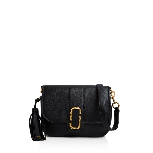 MARC JACOBS Interlock Courier Small Leather Messenger