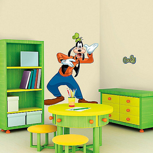 Disney Mickey and Friends Goofy Giant Peel and Stick Wall Decals
