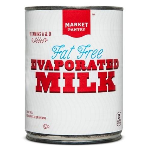 Fat Free Evaporated Milk 12 oz - Market Pantry