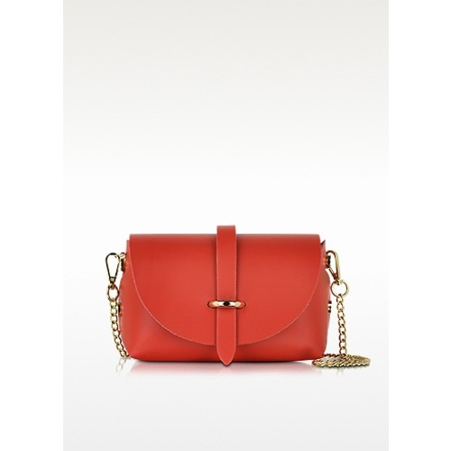Caviar Small Red Leather Shoulder Bag