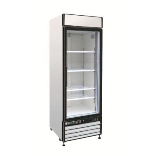 Maxx Cold X-Series 23 cu. ft. Single Door Merchandiser Refrigerator in White
