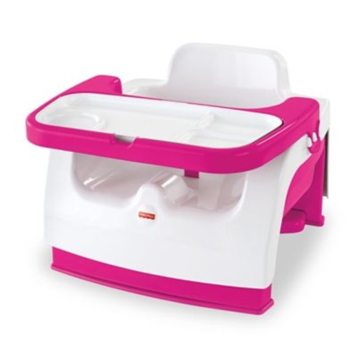Fisher-Price Grow-with-Me Portable Booster in Pink