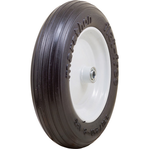 Marathon Tires Flat-Free Wheelbarrow Tire  5/8in. Bore, 3.50/2.508in.