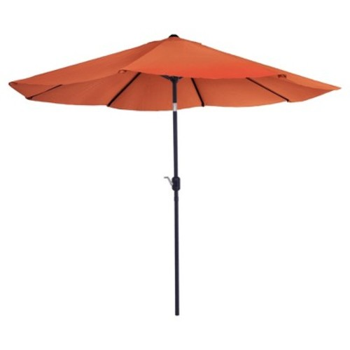 Pure Garden 10' Aluminum Patio Umbrella with Auto Tilt