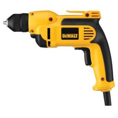 DEWALT 3/8 in. (10 mm) Variable Speed Reversing Pistol Grip Drill with Keyless Chuck