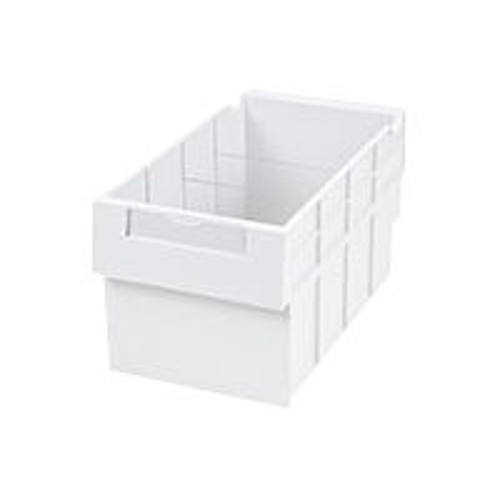 Ergotron StyleView SV43/44 Series Replacement Kit, Double Tall - Mounting component (2 sliding drawers) - medical - white - cart mountable (97-987)