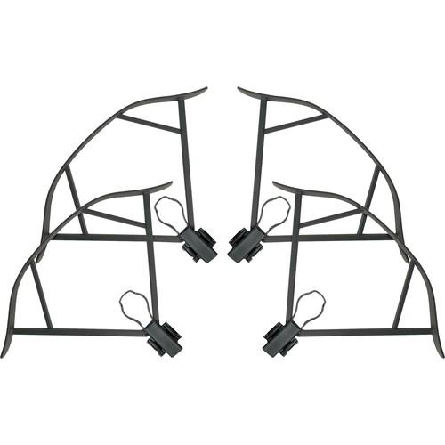 Bower - Sky Capture Propeller Guards for DJI Mavic Pro (4-Pack) - Carbon Fiber Black