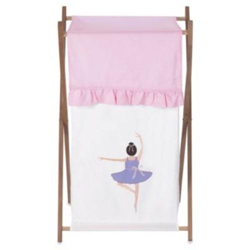 Sweet Jojo Designs Ballerina Laundry Hamper in Pink