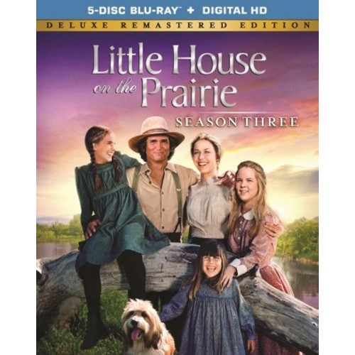 Little House on the Prairie: Season Three [Deluxe Edition] [5 Discs] [Blu-ray]