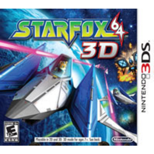 Nintendo of America Star Fox 64 - 3DS [Pre-Owned]