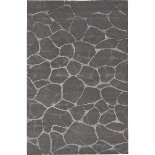 Couristan Impressions Flagstone/Grey-Silver 8' x 10' Area Rug