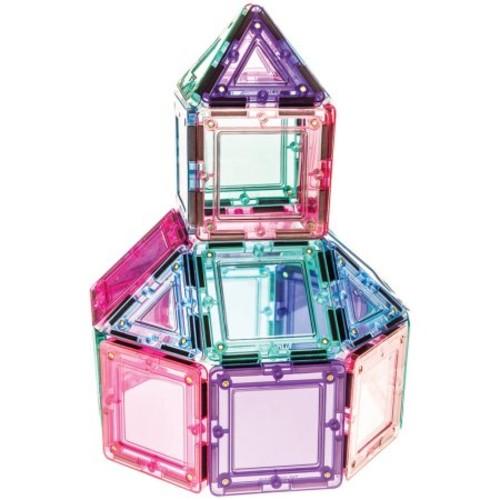MagWorld 3D Magnetic Building Tiles 42 Pieces - Pastel