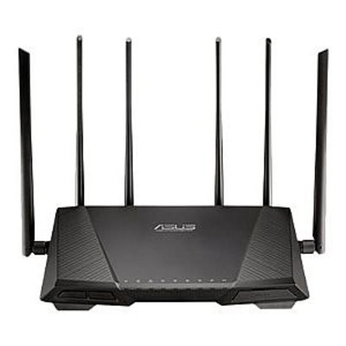 ASUS RT-AC3200 - Wireless router - 4-port switch - GigE - 802.11a/b/g/n/ac - Dual Band