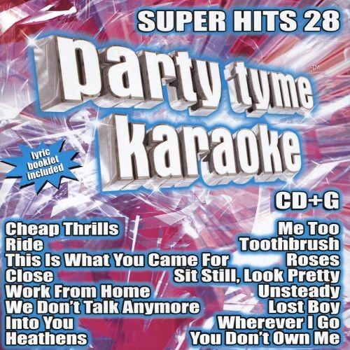 Party Tyme Karaoke: Super Hits, Vol. 28 [CD]