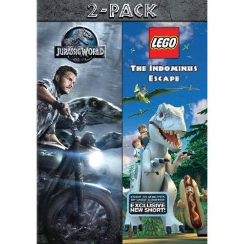 Jurassic World/Lego Jurassic World (DVD)