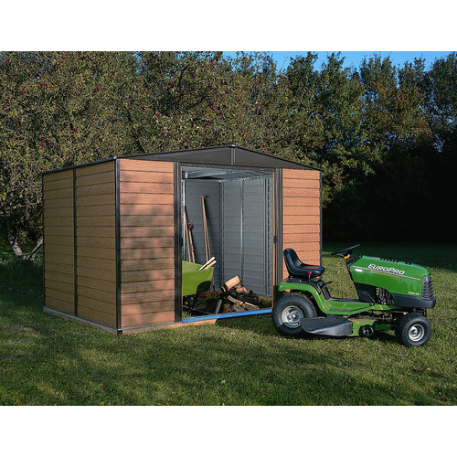 Arrow WR1012 Woodridge 10'x12' Steel Storage Shed