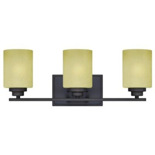 Westinghouse Ewing 3-Light Oil Rubbed Bronze Wall Fixture