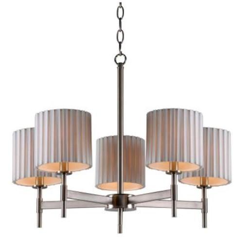 Kenroy Home Grace 5-Light Steel Chandelier
