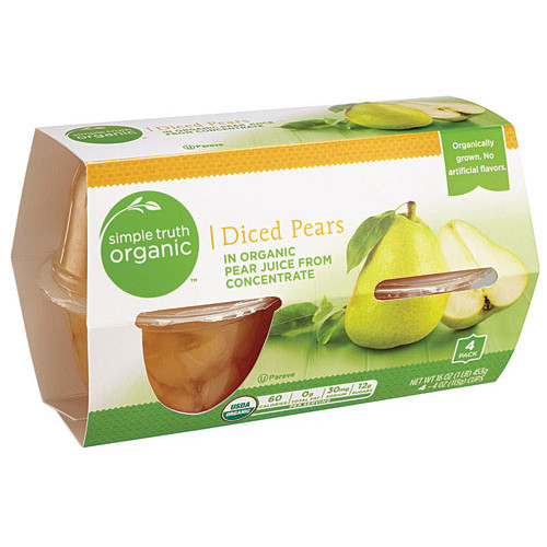 Simple Truth Organic Diced Pears -- 16 oz