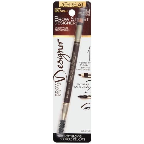 Brow Stylist Designer Brow Pencil, Dark Brunette, 0.045 oz