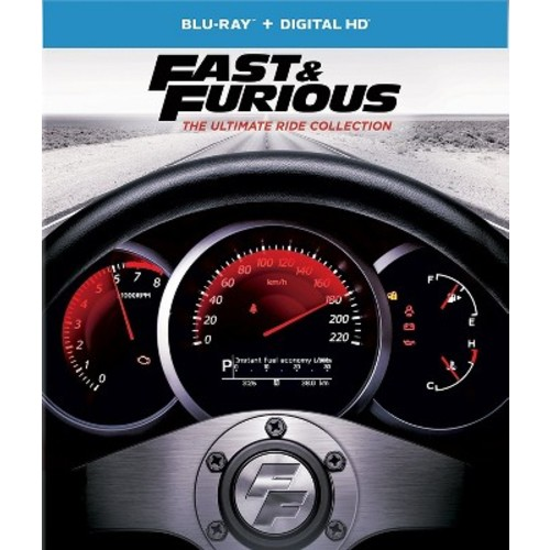 Fast & Furious Ultimate Ride Collection (Blu-ray + Digital)
