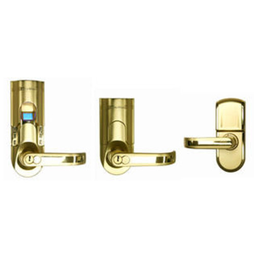 iTouchless Bio-Matic Fingerprint Door Lock Gold Color (Right Handle)