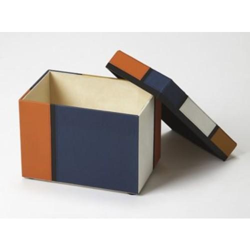 Corrigan Studio Mosaic Leather Storage Box