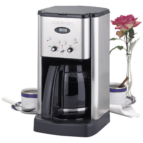 Cuisinart Brew Central Stainless Steel Coffee Maker 12 cups(DCC-1200)