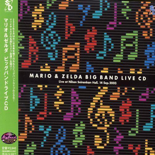 Mario & Zelda Big Band Live [CD]