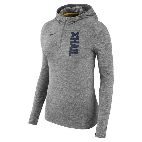 Women's Nike Michigan Wolverines Dry Element Hoodie