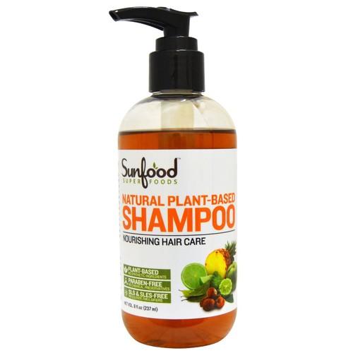 SunFood Natural Plant-Based Shampoo -- 8 fl oz
