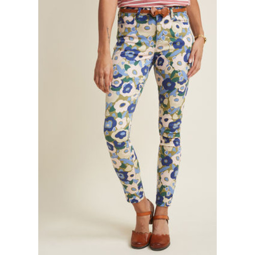 Exuberant Intrigue Pants in Muted Bouquet