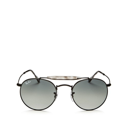 RAY-BAN Brow Bar Round Sunglasses, 50Mm