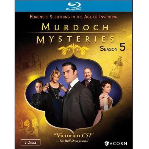 Murdoch Mysteries-Series 5 (Blu-ray)