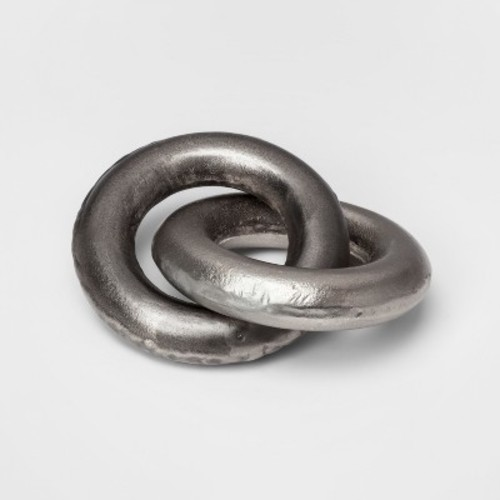 Linked Object Sculpture - Silver - Project 62