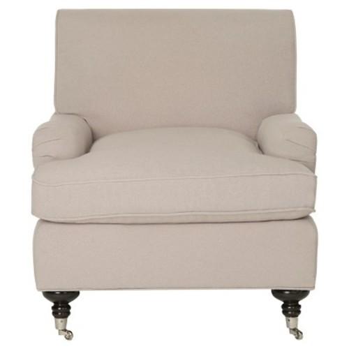 Chloe Club Chair Taupe - Safavieh