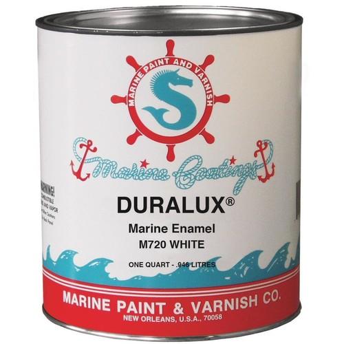 Duralux Marine Paint 1 qt. White Marine Enamel