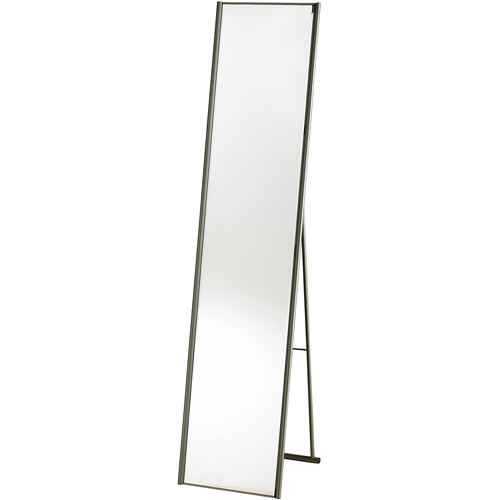 Adesso WK2444-22 Alice Floor Mirror  Powder Coated Champagne Full Length Mirror with Steel Finishing. Home Decor Accessories [Steel]