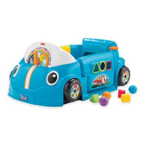 Fisher-Price Laugh & Learn Crawl Around Car in Blue