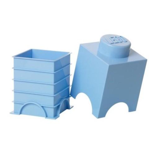 LEGO Bright Blue Storage Brick 1 Children's Toy Box