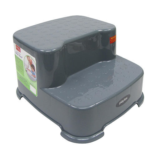 Playtex Transition 2 Step Stool - Grey