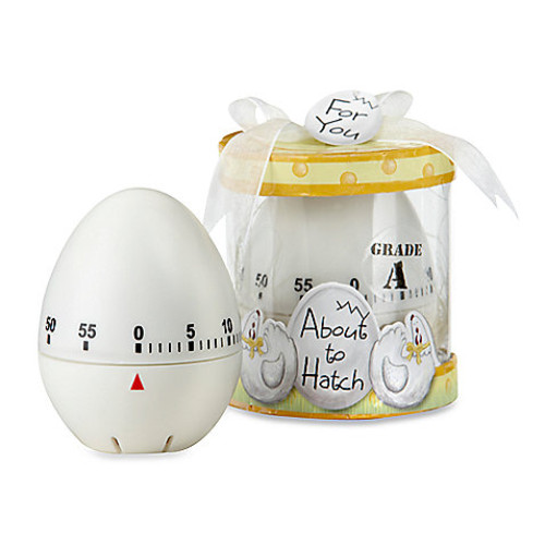 Kate Aspen About to Hatch Kitchen Egg Timer Baby Shower Favor
