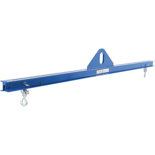 Vestil Economy Spreader Beam  1000-Lb. Capacity, 69 to 93in. Spread, 14in. Headroom, Model# SBM-10-8