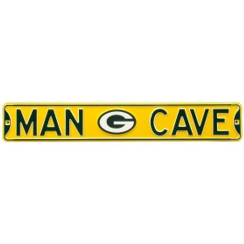 Authentic Street Signs Green Bay Packers Man Cave' Street Sign